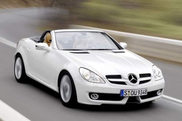 Mercedes SLK d'occasion à moins de 10000 €